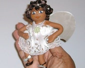 Black Angel Mini Doll Gift for Every Occasion