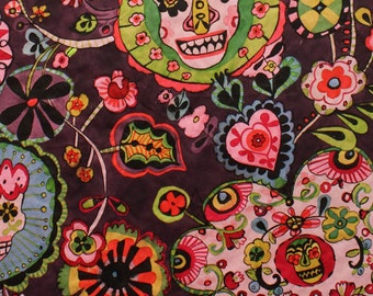 Folklorico Cabezas de Coyoacán Fabric1 Yard Fabric