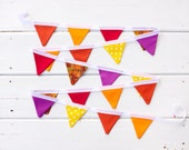 SALE Thanksgiving Bunting LAST ONE Mini Good WIll Bunting Thanksgiving