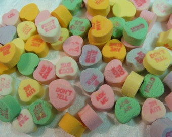 Sale 4 X 6 Candy Hearts w/ words Pastels Photo