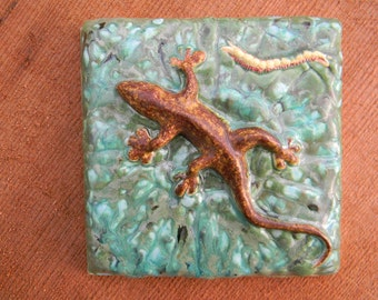 Gecko Ceramic tile 1454