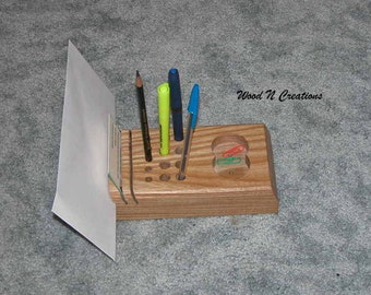 Organizer for Desk Top - Office or Home - Pencil Holder Mail Slots