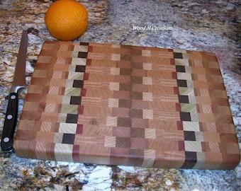 Cutting Board That's About 8 x 12 Endgrain