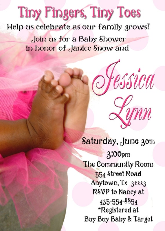 Items Similar To African American Baby Feet Baby Shower