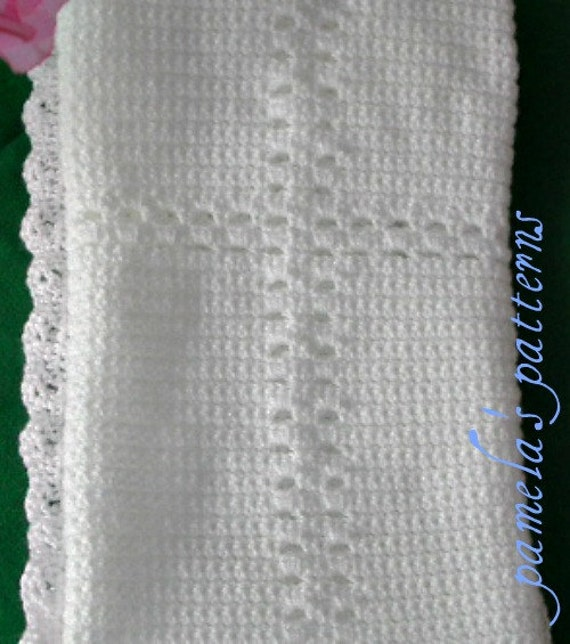 Crochet Cross Blanket