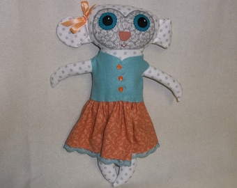 Jemima the Big Eyed Lamb Doll