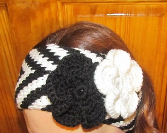 Pattern 63 Winter Chevrons Headband or Earwarmer