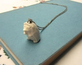 Mr Hedgehog Ceramic Necklace