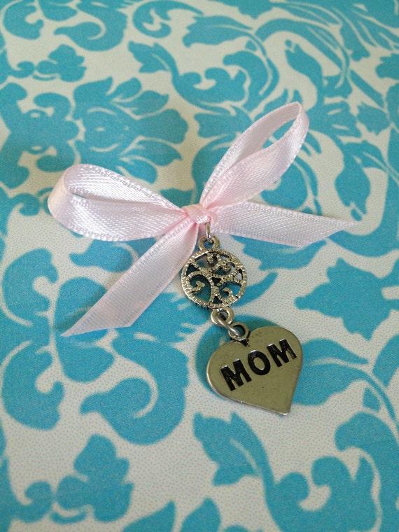 Mom Wedding Bouquet Charm
