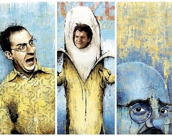 Arrested Development Collection (3 Separate Prints) - 12x18 Officially Signed, Dated and Hand-Stamped Art Print
