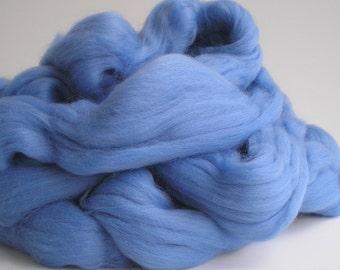 "Ashland Bay Solid Colored Merino for Spinning or Felting ""Hyacinth""  4 oz."