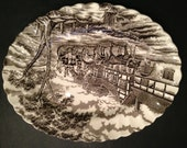 PRIVATE FOR LORI - Myott Royal Mail Large & Small Serving Platters Brown
