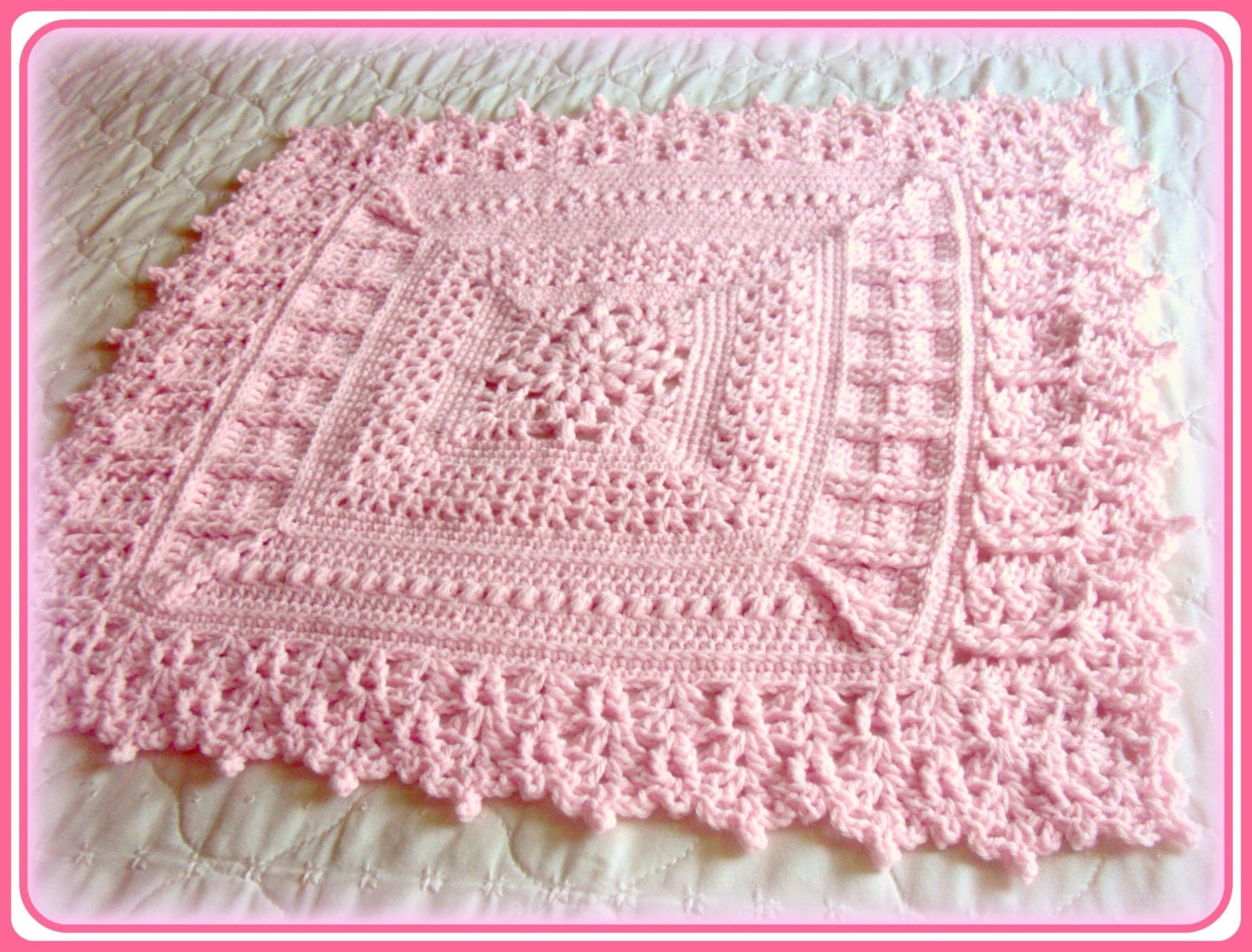 Unique baby blanket crochet patterns for beginners and