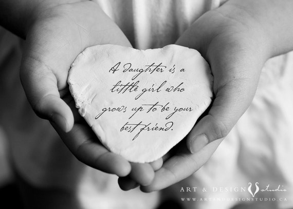 daughter quote inspirational gift for daughter birthday