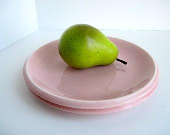 Plate, Homer Laughlin Epicure, Pink