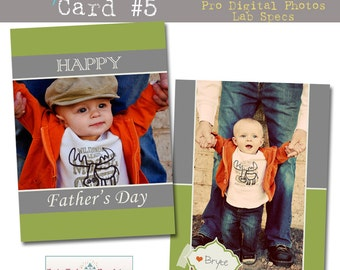 INSTANT DOWNLOAD My Hero Card 5- custom photo templates for photographers on WHCC, ProDigitalPhotos and Millers Lab Specs