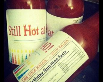 DIY Still Hot printable hot sauce labels INSTANT DOWNLOAD