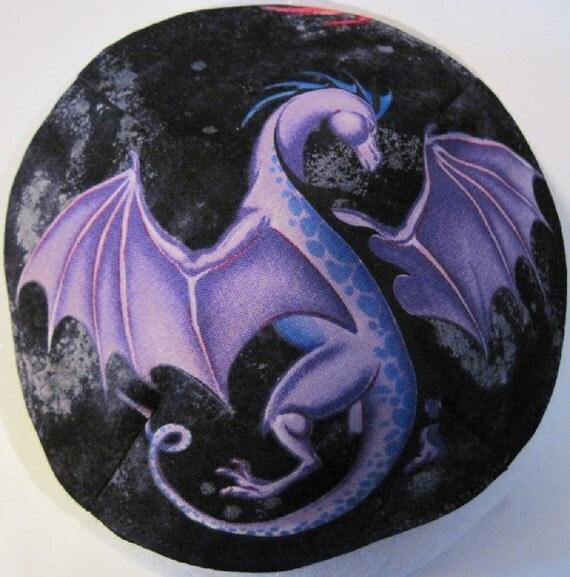 Reserved Purple Dragon Kippah