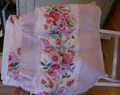 Beautiful Vintage Rose Apron