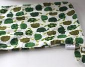 Wet Bag, Large - Turtles - Ann Kelle - Made to Order