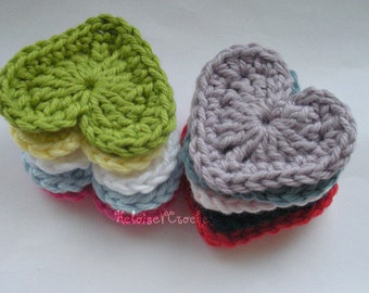 Crochet Heart Pattern - instant digital download