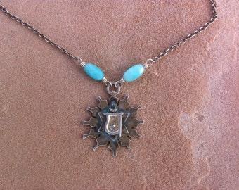Mini Heart Chakra Necklace