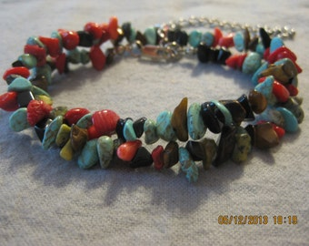 Natural Stone Rock Necklace