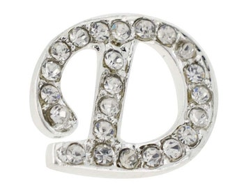 Letter D Tag Pin Brooch Pin 1012304