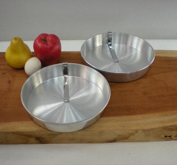 2 Mirro 8 Inch Baking Pan 1108m Round Pie Cake Slider