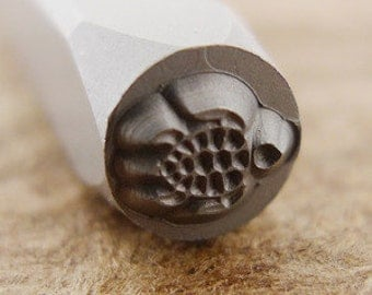 Sea Turtle Design Stamp-Measures approx 5 mm-Design Stamp-Metal Stamping Supplies for Personalized Jewelry