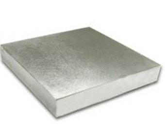 Beadsmith Large Economy Bench Block Measures  4x4x1/2 inch-Great Item for Metal Stamping -More Surface Area