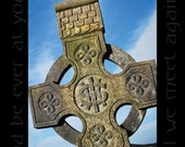 Celtic Crosses with Irish Blessing Irish Catholic Ireland Clovers Allihies Beara Peninsula Collage Mulitple Pictures