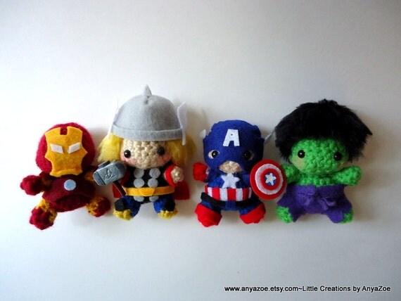 Avengers Amigurumi