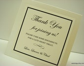 Wedding Sign Tent Design Personalized for you with your Custom Wording  Perfect for Buffet, Guest Book, Favor Table, Head Table, and Bar