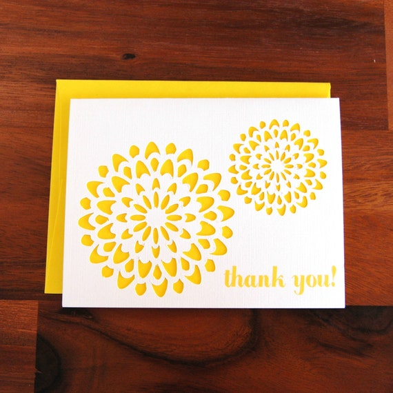 Medallion Thank You Cards - Set of 6