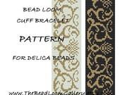 Bead Loom Cuff Bracelet Pattern Vol.23 - PDF File PATTERN
