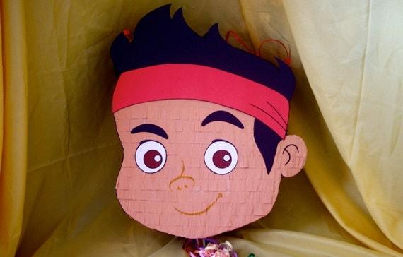 Jake and the Neverland Pirates Inspired Birthday / Party Pinata