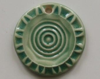 Handmade Ceramic Pendant 92313