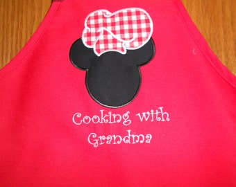 Child's Mickey apron