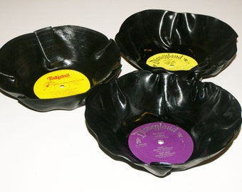Larger Disney Vinyl Record Bowls