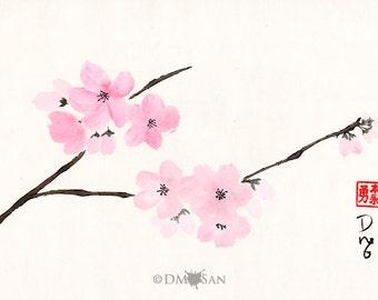 Cherry Blossoms (Print)