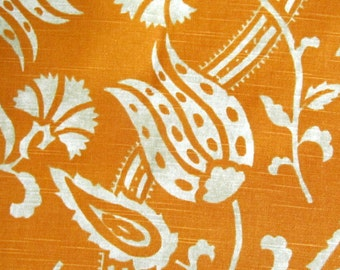 SOOK tangerine cotton multipurpose fabric