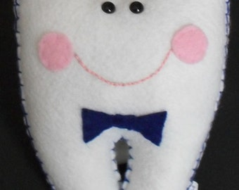 Tooth Fairy Pillow - Boy - Personalized