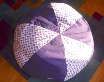 Argyle Purple Bean Bag Chair Cover - Gift Under 75