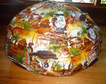 It Takes a Village Bean Bag Chair Cover, African Women and Children, Etsy Kids