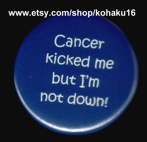 Dealing With Cancer Button