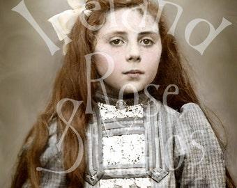 Jess-Victorian Girl-Digital Image Download