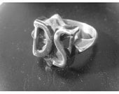 Original D.s. Drive Shaft Ring Charlie Lost Props  Solid Sterling Silver 925