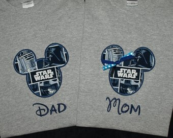 Star Wars Disney Shirt Adult T-shirts