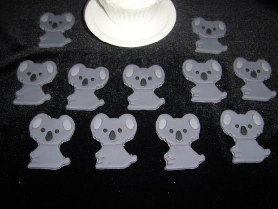 Koala Bear Cupcakes Koala Bears Edible Fondant